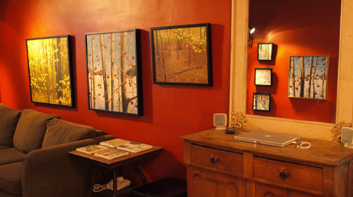 I showed in my home in the 2008 Guelph Studio Tour