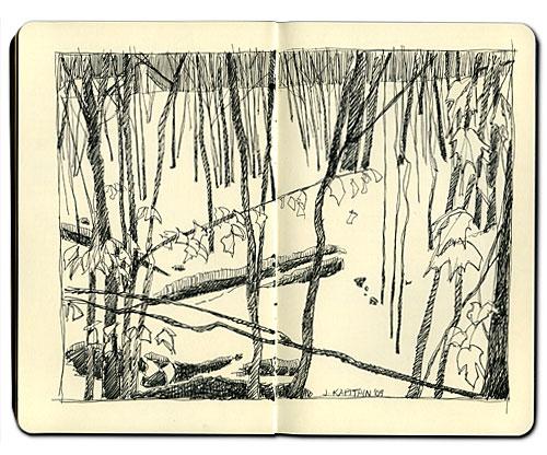 Winter_Ravine_sketch