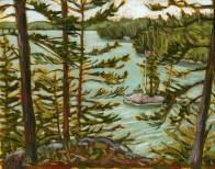 'The View, Salmon Lake' (2012) by Jamie Kapitain.