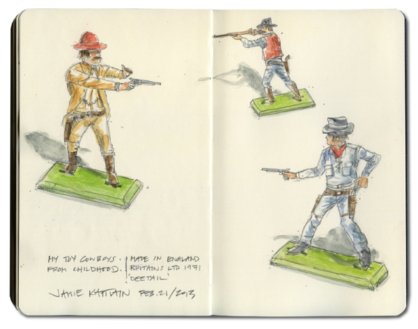 'My Toy Cowboys' by Jamie Kapitain.