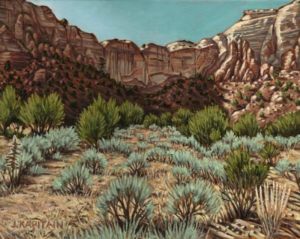 'Near Abiquiu, New Mexico No.2' (2012-13) by Jamie Kapitain.