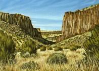 'Diablo Canyon, New Mexico' (2011) by Jamie Kapitain.