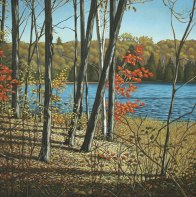'Autumn Near Salerno Lake No.3' (2011) by Jamie Kapitain