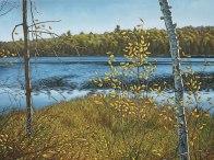 'Autumn Near Salerno Lake No.4' (2011) by Jamie Kapitain