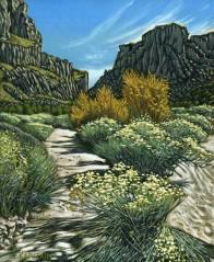 'Diablo Canyon, New Mexico No.2' (2011) by Jamie Kapitain