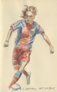 'Soccer Player' (2015) by Jamie Kapitain